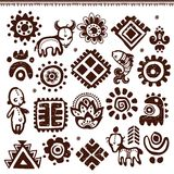 Modelo tribal abstracto Foto de archivo