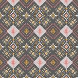 Modelo tribal abstracto, elementos étnicos repetidos, Fotografía de archivo