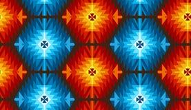 Modelo tribal del vector inconsútil para el diseño de la materia textil stock de ilustración