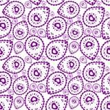 Modelo tribal en color púrpura Libre Illustration