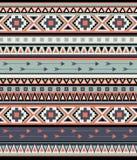 Modelo tribal inconsútil del vector Imagenes de archivo
