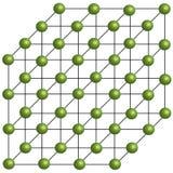 Modelo tridimensional de la molécula Imagen de archivo libre de regalías