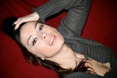 Modelo triguenho italiano atrativo Imagem de Stock Royalty Free