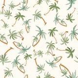 Modelo tropical inconsútil de las palmas Imagenes de archivo