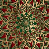 Modelo turco del fondo del arabesque étnico libre illustration