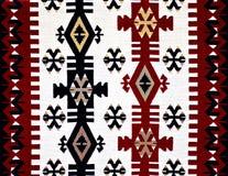 Modelo turco oriental de la alfombra Foto de archivo