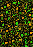 Modelo vegetal coloreado Imagenes de archivo
