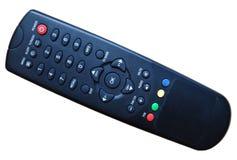 Modelo velho da televisão de controle remoto Fotografia de Stock Royalty Free