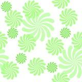 Modelo verde Imagenes de archivo