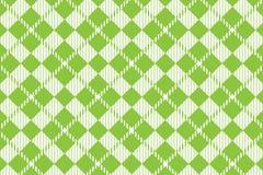 Modelo verde claro de la guinga Textura del Rhombus para - la tela escocesa, manteles, camisas, vestidos, papel, lecho, mantas, e stock de ilustración
