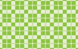 Modelo verde claro de la guinga Textura del Rhombus para - la tela escocesa, manteles, camisas, vestidos, papel, lecho, mantas, e ilustración del vector