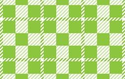 Modelo verde claro de la guinga Textura del Rhombus para - la tela escocesa, manteles, camisas, vestidos, papel, lecho, mantas, e libre illustration