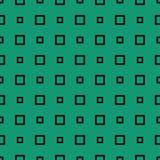 Modelo verde con rectángulos Foto de archivo libre de regalías
