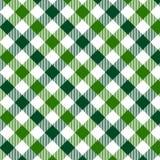 Modelo verde de la guinga Textura del Rhombus/de los cuadrados para - la tela escocesa, manteles, ropa, camisas, vestidos, papel, libre illustration