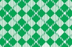 Modelo verde de la guinga Textura del Rhombus para - la tela escocesa, manteles, camisas, vestidos, papel, lecho, mantas, edredon libre illustration