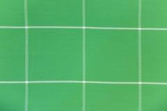 Modelo verde de la materia textil Fotografía de archivo