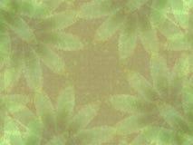 Modelo verde de las impresiones de la hoja ilustración del vector