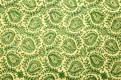 Modelo verde de Paisley Imágenes de archivo libres de regalías