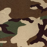 modelo verde del camo del soldado Foto de archivo