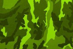 Modelo verde del camuflaje Fotos de archivo