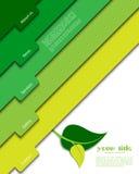 Modelo verde del Web site foto de archivo libre de regalías