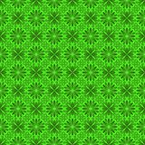 Modelo verde inconsútil de Florall Foto de archivo libre de regalías
