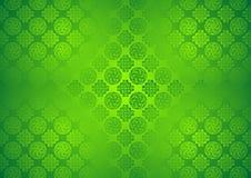 Modelo verde, Oriental, Ornamental, chino, árabe, islámico, fondo de la textura Imlek, el Ramadán, papel pintado del festival