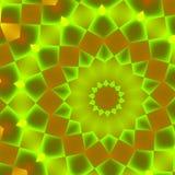 Modelo verde que pulsa Imágenes de archivo libres de regalías