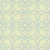 Modelo verde y azul abstracto inconsútil Imagenes de archivo