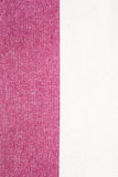 Modelo vertical de dos tonos de la textura del algodón crudo Foto de archivo