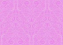 Modelo violeta foliate inconsútil ilustración del vector