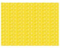 Modelo y textura inconsútiles del maíz en plano Imágenes de archivo libres de regalías
