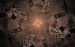 Modelos abstractos del ajedrez Foto de archivo
