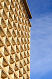 Modelos abstractos del edificio moderno del hotel Fotografía de archivo