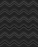 Modelos abstractos dibujados mano del vector de Zig Zag Gráfico blanco y negro Chevron minúsculo infantil stock de ilustración