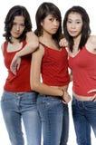 Modelos adolescentes Fotos de Stock
