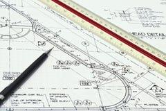 Modelos arquitectónicos Fotografia de Stock Royalty Free