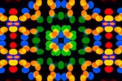 Modelos caleidoscópicos de la falta de definición coloreada stock de ilustración
