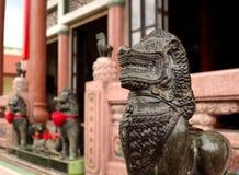 Modelos chineses do leão Fotos de Stock Royalty Free