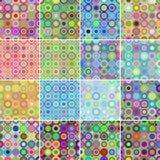 Modelos circulares Imagenes de archivo