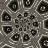 Modelos circulares abstractos Imágenes de archivo libres de regalías