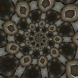 Modelos circulares abstractos Imagen de archivo libre de regalías