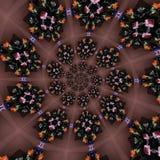 Modelos circulares abstractos Foto de archivo