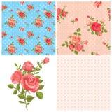 Modelos color de rosa florales libre illustration
