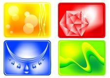 Modelos coloreados Fotografía de archivo