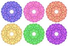 Modelos coloridos Imagen de archivo libre de regalías