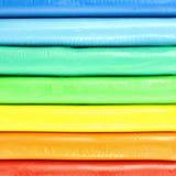 Modelos coloridos de la arcilla fotos de archivo libres de regalías
