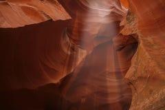 Modelos coloridos del antílope de la piedra arenisca de Navajo Foto de archivo