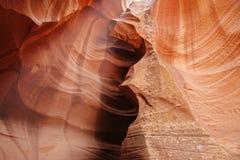 Modelos coloridos del antílope de la piedra arenisca de Navajo Fotos de archivo