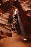 Modelos coloridos del antílope de la piedra arenisca de Navajo Imagen de archivo libre de regalías